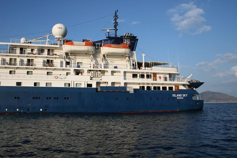 2008 - M/S ISLAND SKY offshore Capri.
