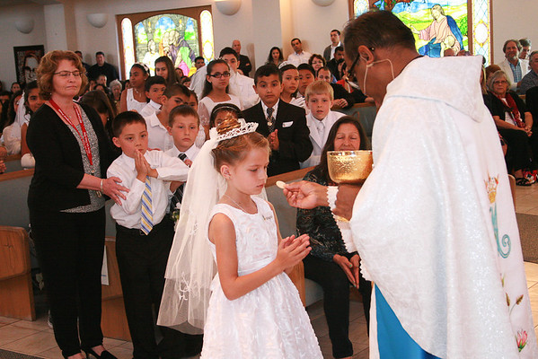 First Communion 2014 Windsor CA.