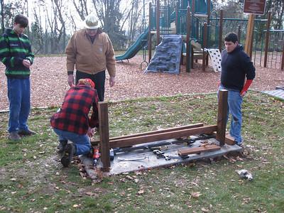 David's Eagle Project - day 3 - Nov 22
