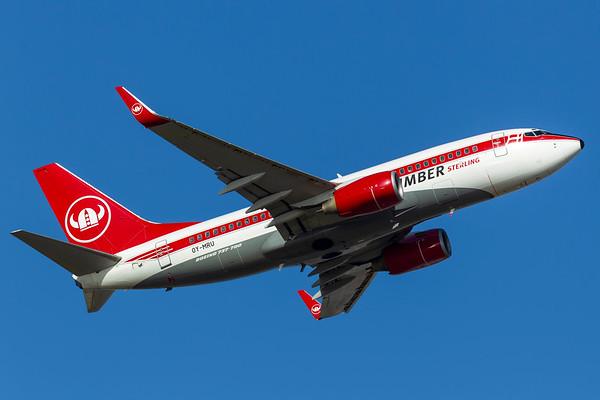 OY-MRU - Boeing 737-73S