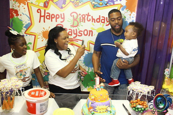 MAY 19TH, 2018: GRAYSON'S 1ST BIRTHDAY BASH