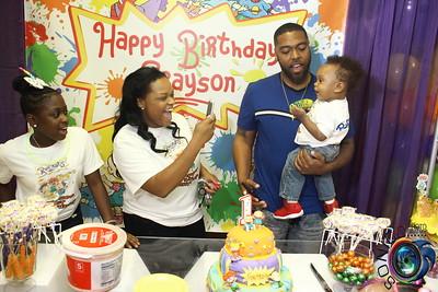 MAY 19TH, 2018: GRAYSON'S 1ST BIRTHDAY BASH