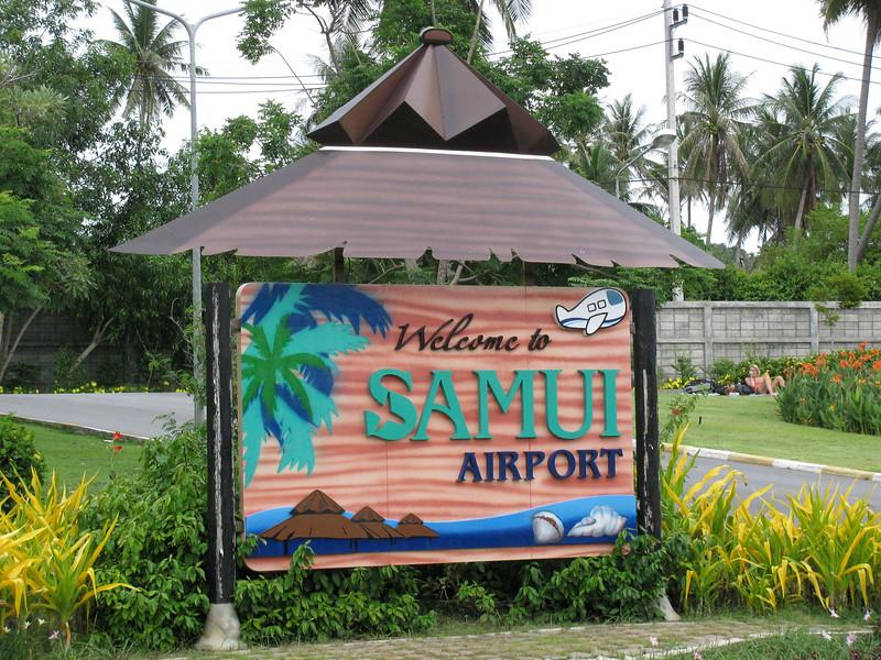 Koh Samui Airport copyright Holiday Point