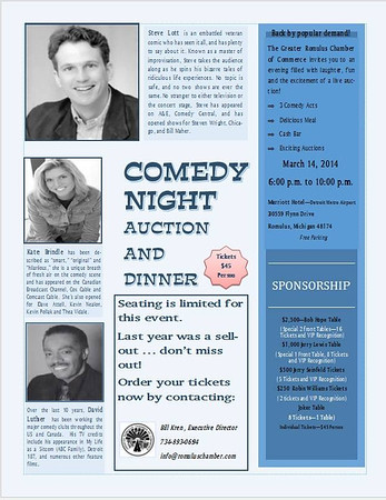 Comedy Night 2014