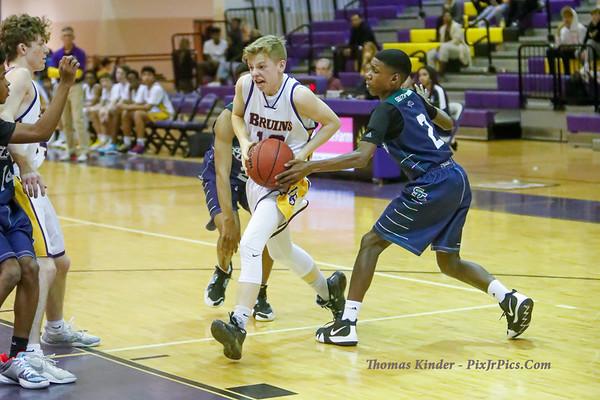 Boys Frosh Basketball v South County