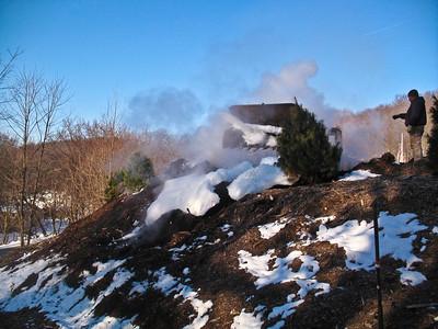 3-5-09 Mulch Fire, Garrison Tree