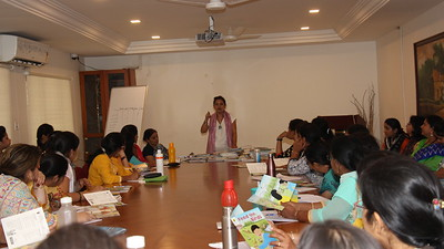 Workshop on Teaching to Read for Pre-Primary Teachers