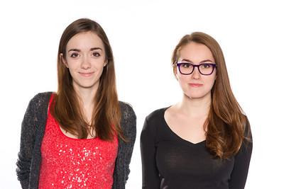 Sarah & Alessandra