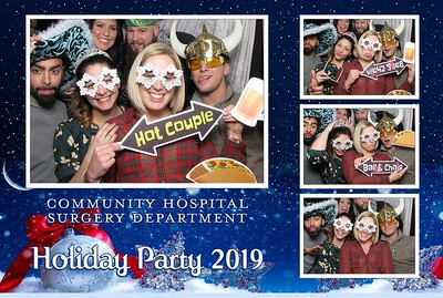 Community Hospital Surgery Department - Holiday Party 2019