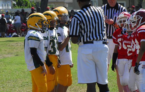 Chargers vs. Santa Ana Monarchs 9/27/08