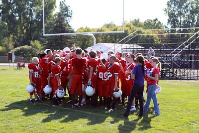 Boys MS Football - 9/12/2012 Spring Lake