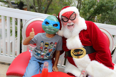 Adrian and Santa 2016
