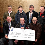 A replay of the Down-Meath All Ireland Semi-Final 1991 in November in Park Esler has raised �21,172 for The Kevin Bell Repatriation Trust.Pictured Committee members presenting the cheque to ...