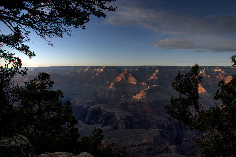 Panorama of the Grand Canyon National Park in Arizona, USA