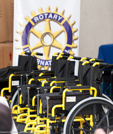 Saturday: Home Distributions With Local Rotarians