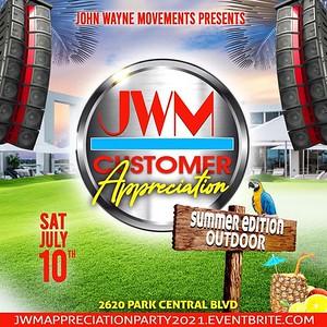 JOHN WAYNE MOVEMENT CUSTOMER APPRECIATION AFFAIR 2021