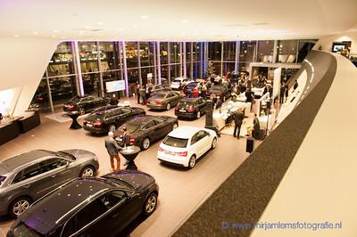 BOB Borrel bij Audi Hoogenboom Rotterdam 03-12-2013