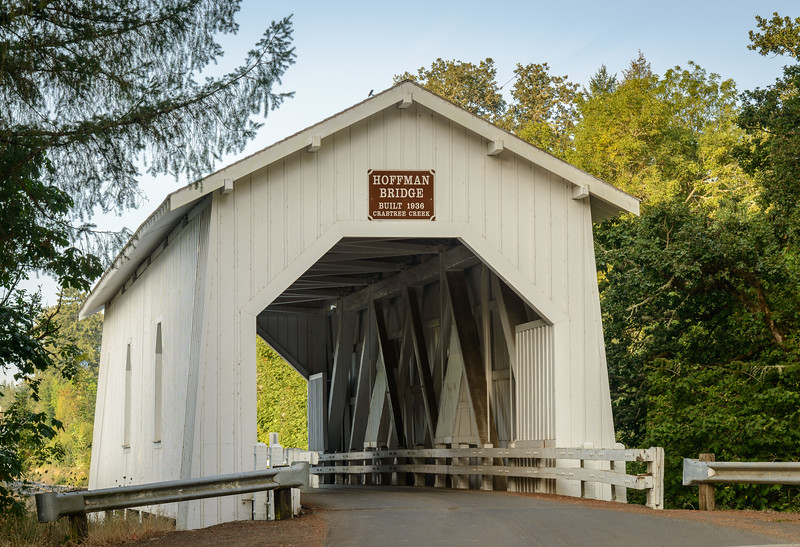 Hoffman Covered Bridge, Oregon
