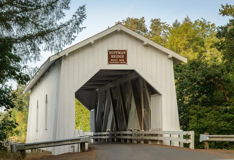 Hoffman Covered Bridge, Oregon