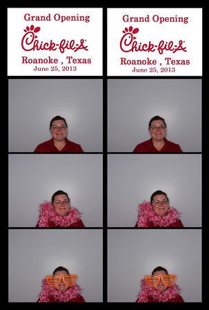Chick fil A Grand Opening Roanoke, TX 6-25-2013