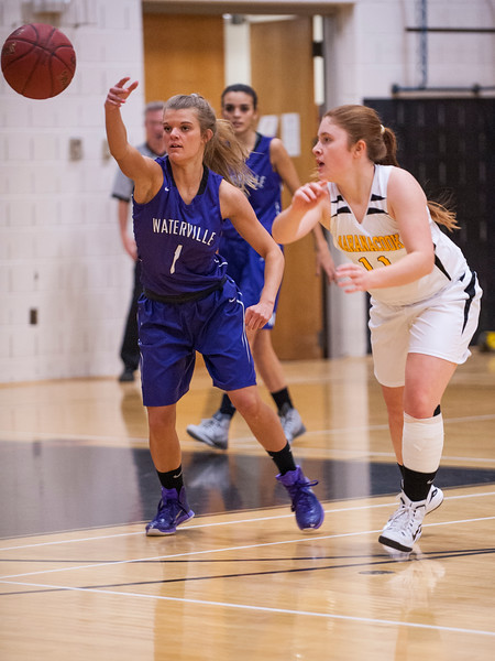 Maranacook vs Waterville Girls Varsity Basketball
