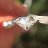 2.01ct Antique Pear Shape Diamond GIA G VS1 8