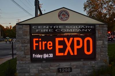 10.01.2021 Fire Expo at Centre Square Fire Company