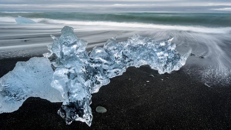 Abandoned to Die- Jökulsárlón Glacial Lagoon, Iceland