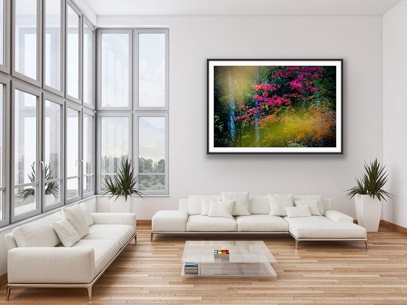 'Autumn Palette' Fine Art Print Framed/Unframed