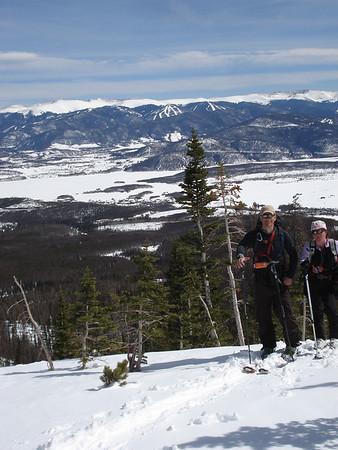 3-14-11 Buffalo Mountain Ski Tour