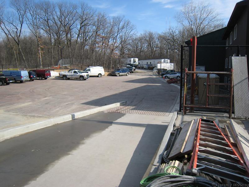 Loading dock area