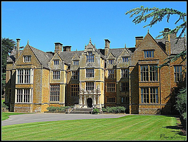 """Home Again""; Wroxton Abbey, Oxfordshire"