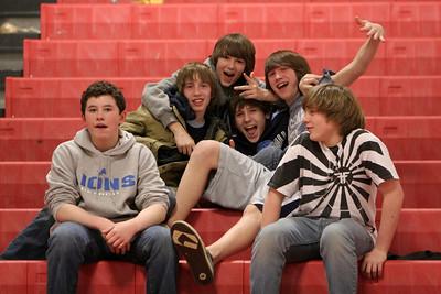Boys JV Basketball - 2/24/2009 Manistee