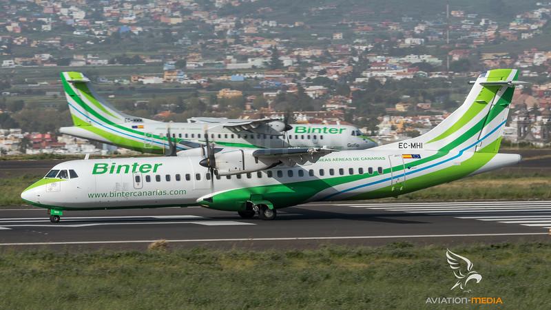 Binter Canarias / ATR 72-500 & ATR 72-600 / EC-MHI & EC-MMM