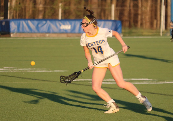 Western versus Monticello girls lacrosse 2018
