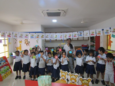 Parental Involvement in School Activity - Tiggers on 4.3.20