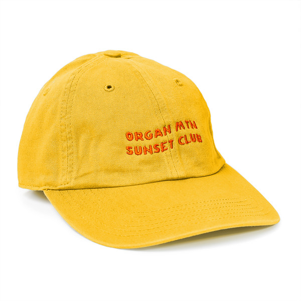 Outdoor Apparel - Organ Mountain Outfitters - Hat - Sunset Club Dad Cap - Yellow.jpg
