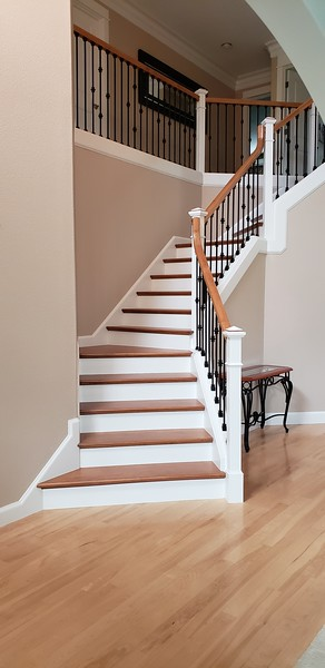 Ronda & Frank's Stairway/Entry Remodel