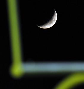 Moon Shines Brightly