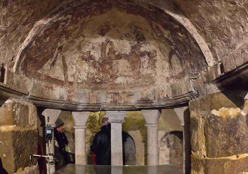 Quedlinburg: St. Wiperti, Krypta, Apsiskalotte