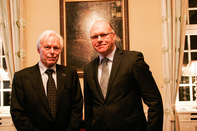 Rafal Wisniewski and Jørn Thulstrup , Polish embassy, Copenhagen, Denmark, 2014
