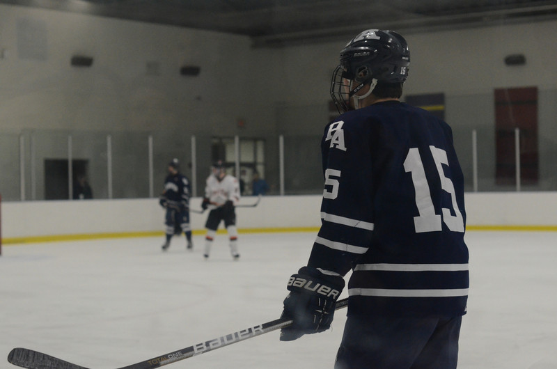 Boys Hockey vs. Thayer 1/18/13