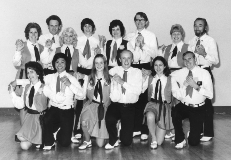 Diablo Mountain Cloggers 1975