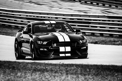 2021 SCCA TNiA Pitt May 20 Blk Mustang Wht Stripes