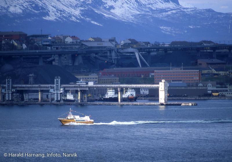 """Trolig """"Øydronningen"""" som rederiet ble pålagt å benytte rett etter at Skogøy ble tatt ut av fart."""