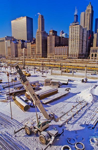 Millenium Park Construction