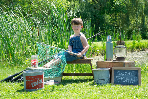 Dorothy Fishing