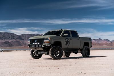 @Patricktalbot808 2016 @Chevrolet Silverado 1500 22x12 Machined Black #FACTOR Special Force Concave Series 35x12.5r22 @IntercoTires