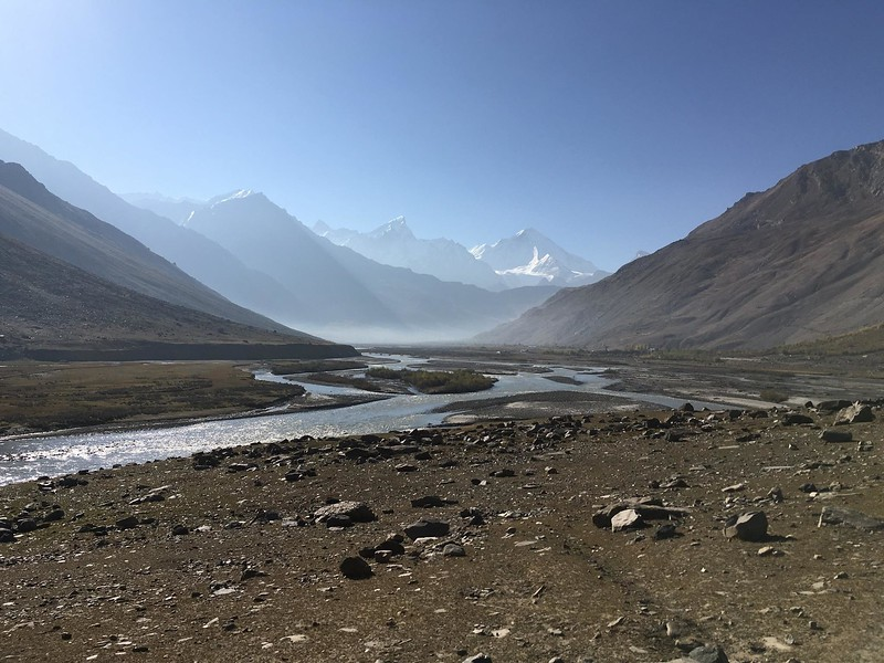 """Near Kargil and the Pakistan border.  We were a bit concerned about traveling here due to recent """"surgical strikes"""" along this border region and shelling on the roads.  Locals helped us determine when it was safe to pass through between attacks."""