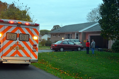 10-26-13 Coshocton FD House Fire
